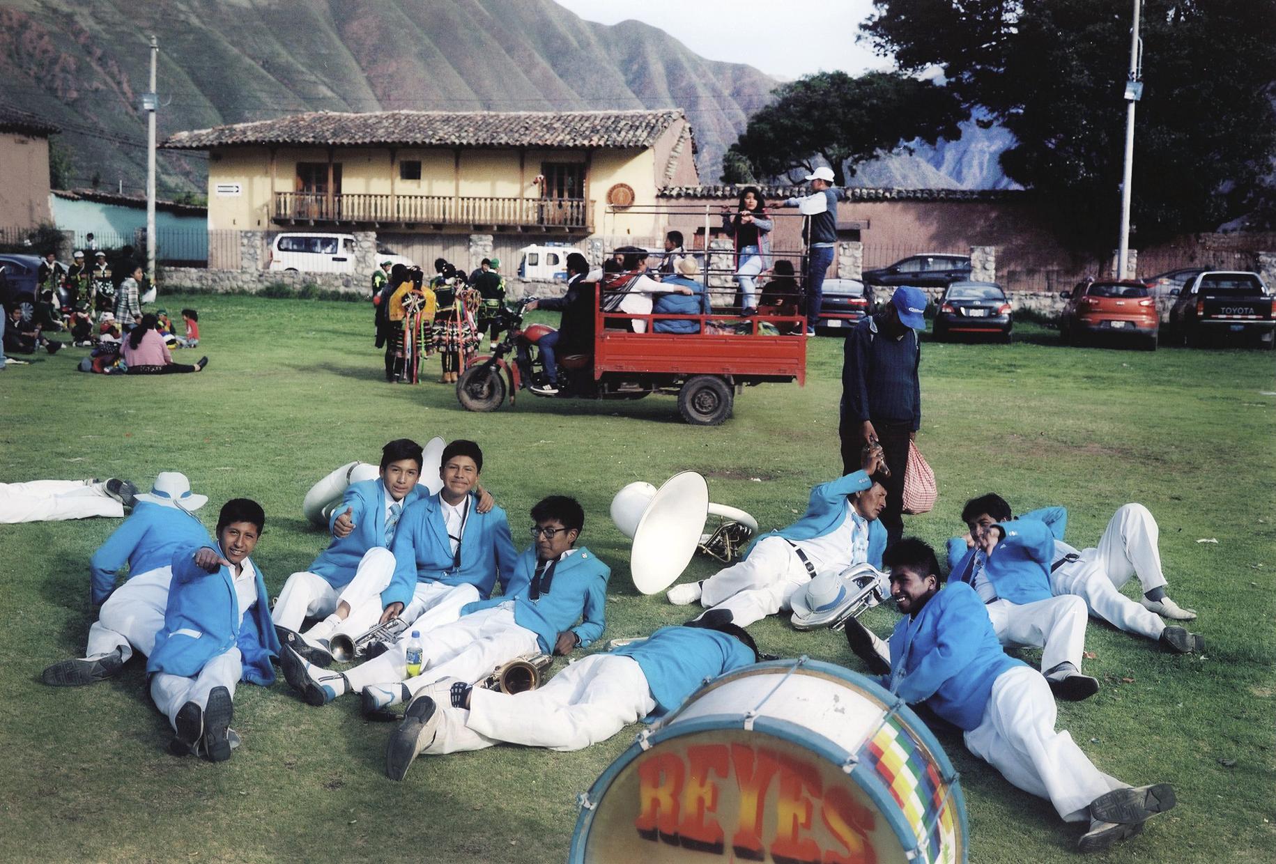 Fiesta at Urubamba, Peru