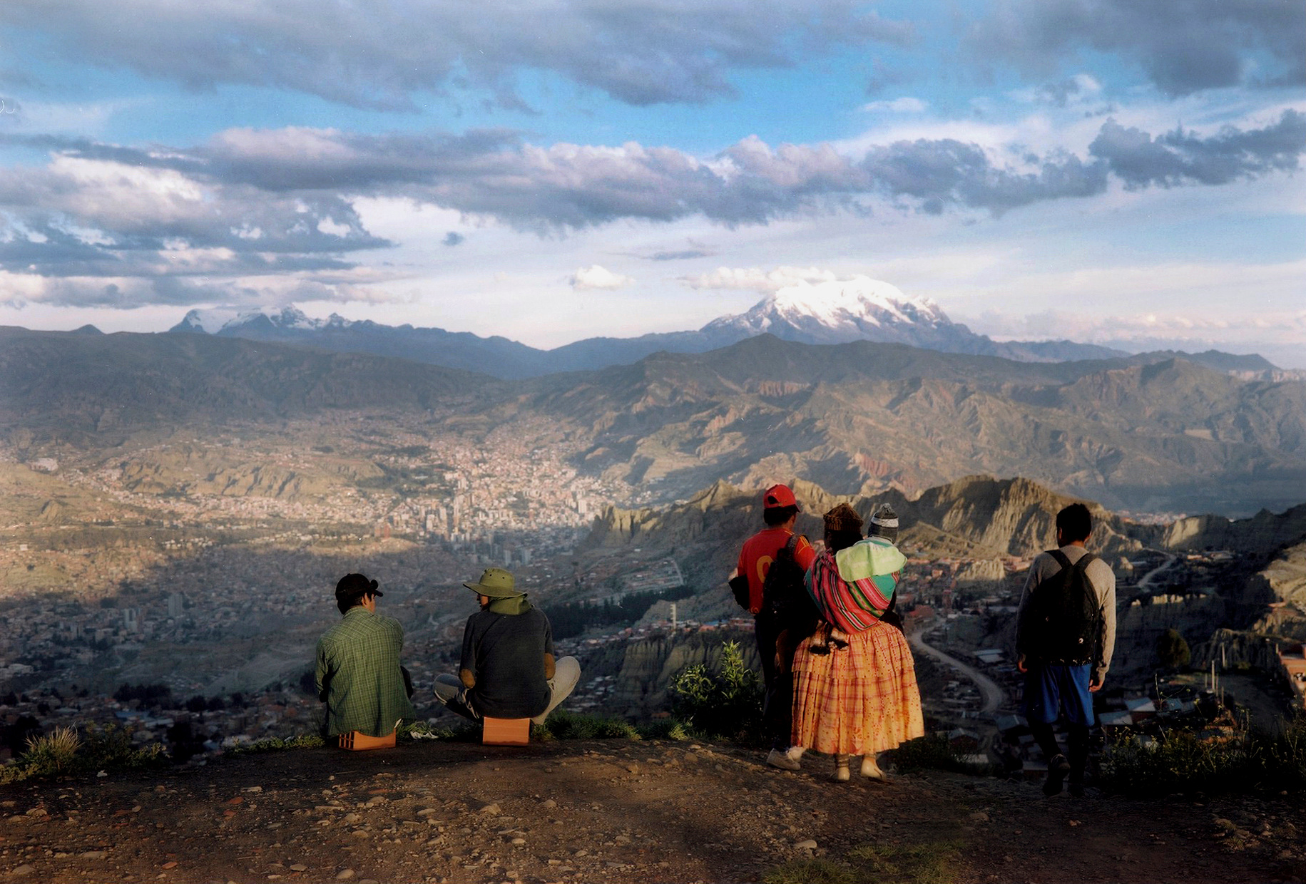 El Alto, looking at La Paz, Bolivia
