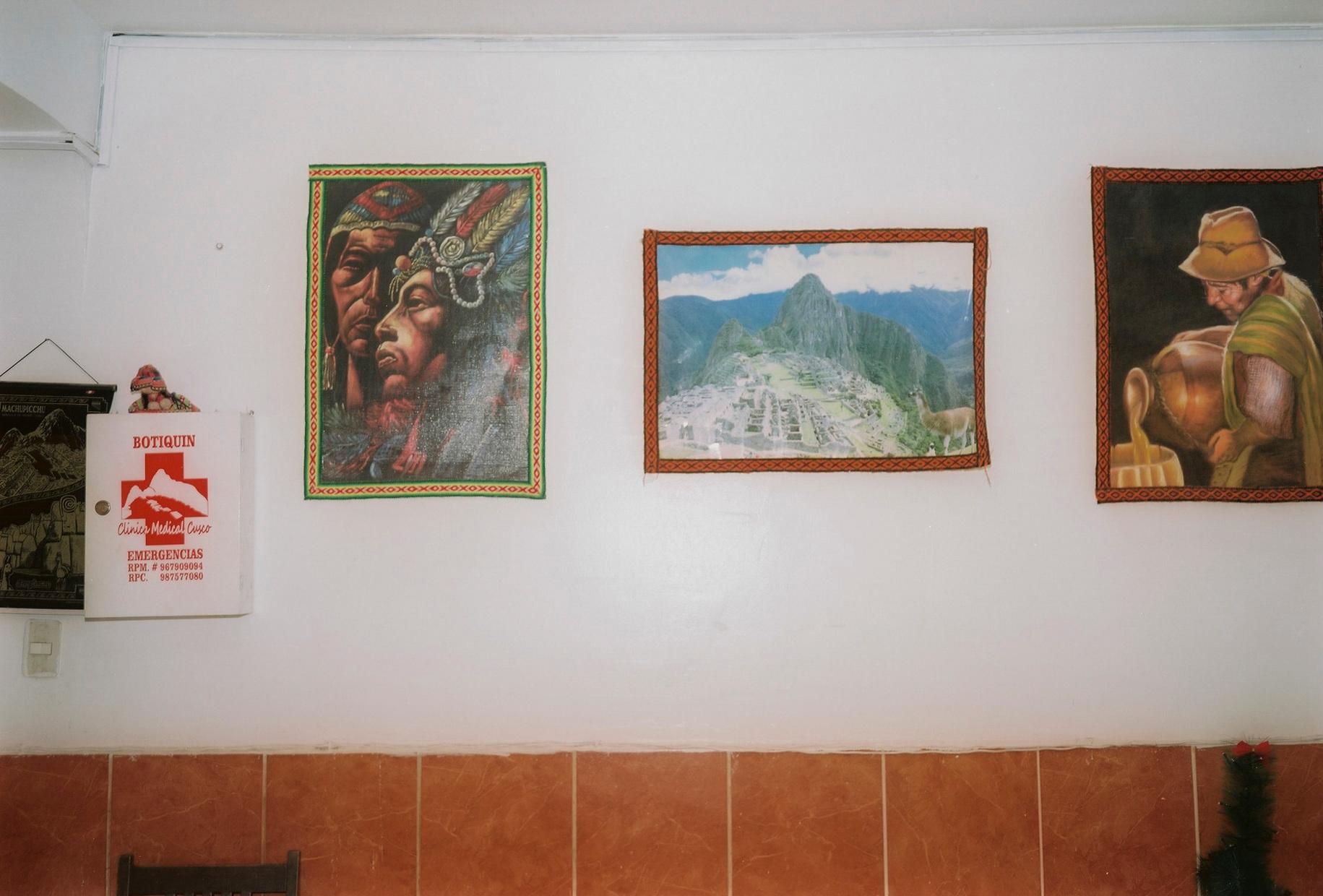 Hotellobby, Aguas Calientes, Peru