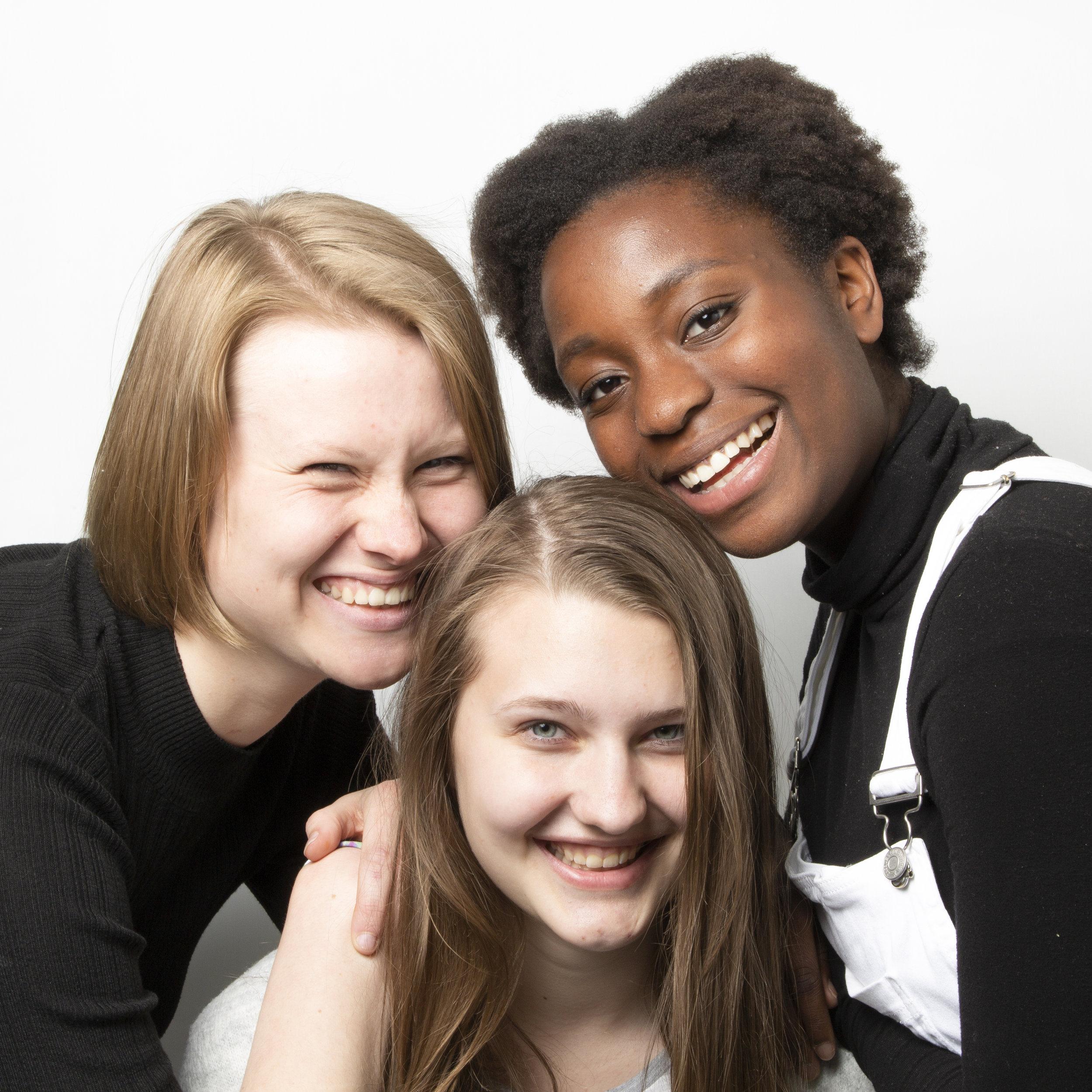 Marika, Vanessa und Jamie