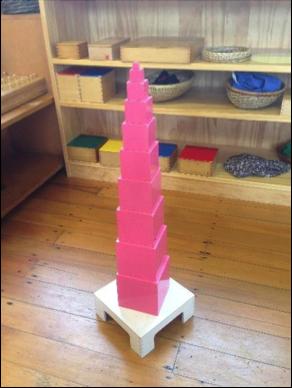 Montessori Pink Tower