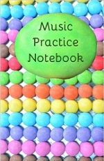a music notebook for use in private music lessons MidSussex