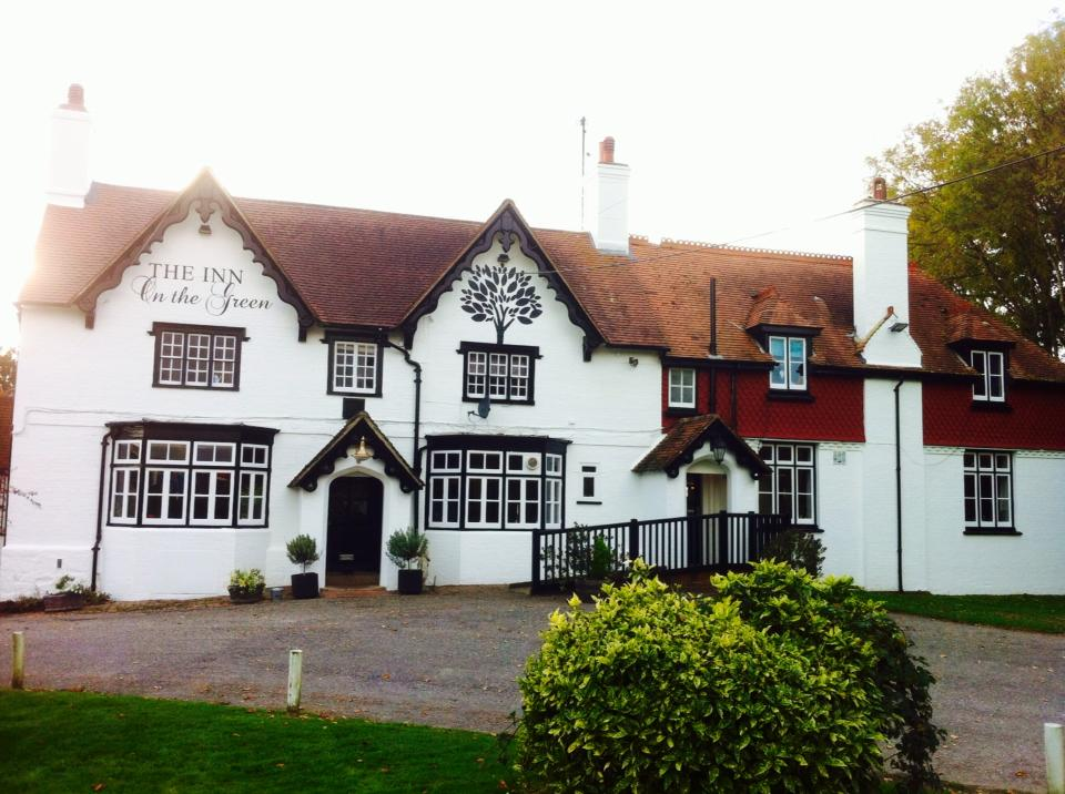 The Inn on the Green, Scaynes Hill. Image courtesy of  theinnonthegreen.pub