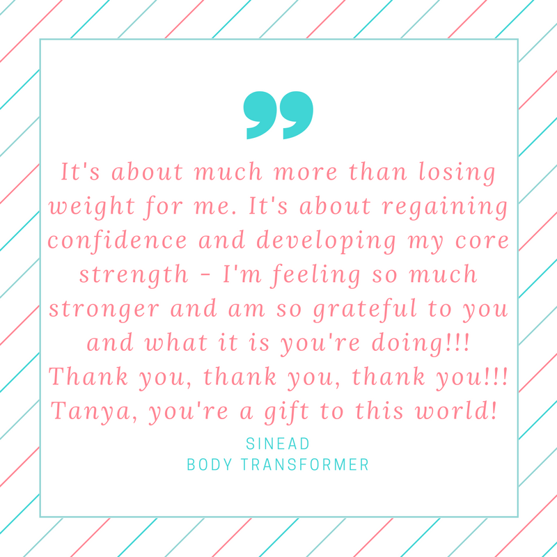 Client quotes — Fat Loss Coach & Personal Trainer