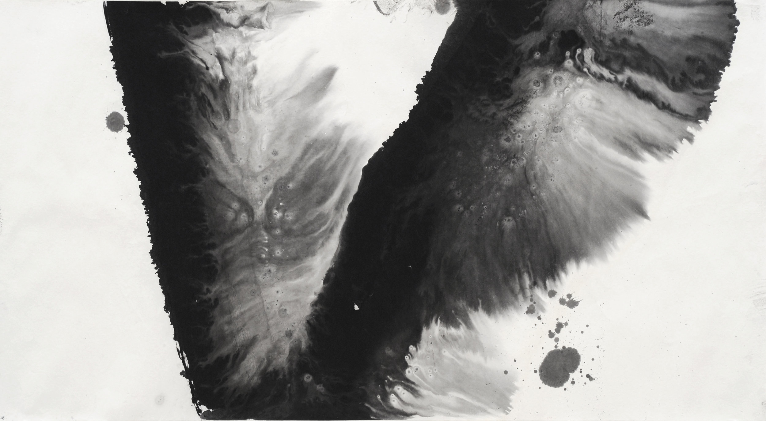 Wind Everlasting(永不休止的风)/200&100/水墨宣纸/2015