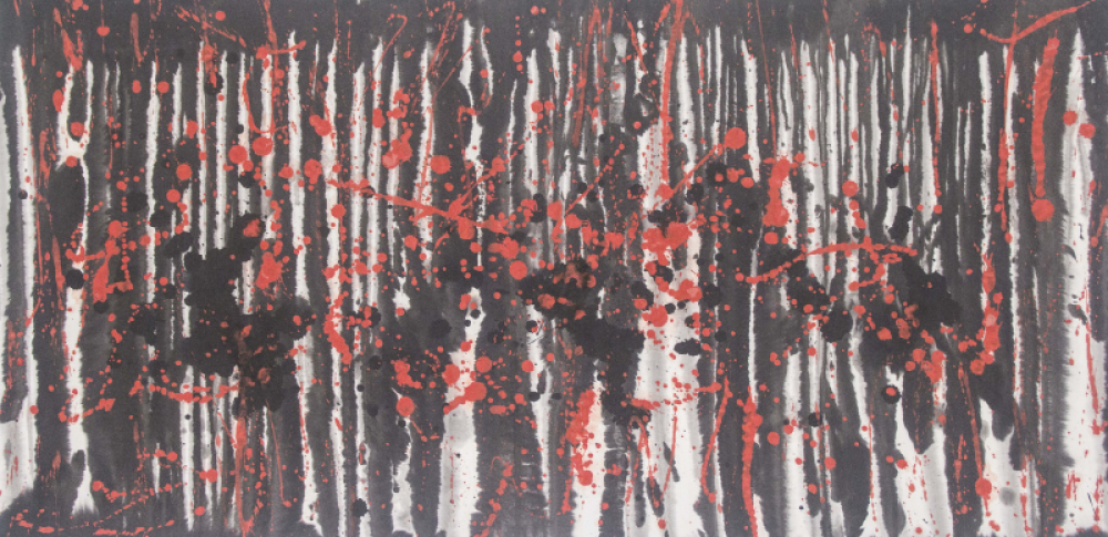 SAMH011 MA Hui, Forest, 2019, Ink on ricepaper, 130x62cm.png