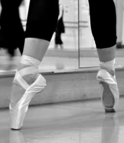 Second position on pointe
