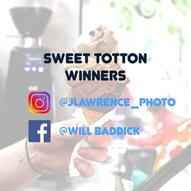WINNERS! 🍨🎉You have won a free scoop of ice-cream, congratulations!! We will message you with more detail to claim your scoop 🏆🍧