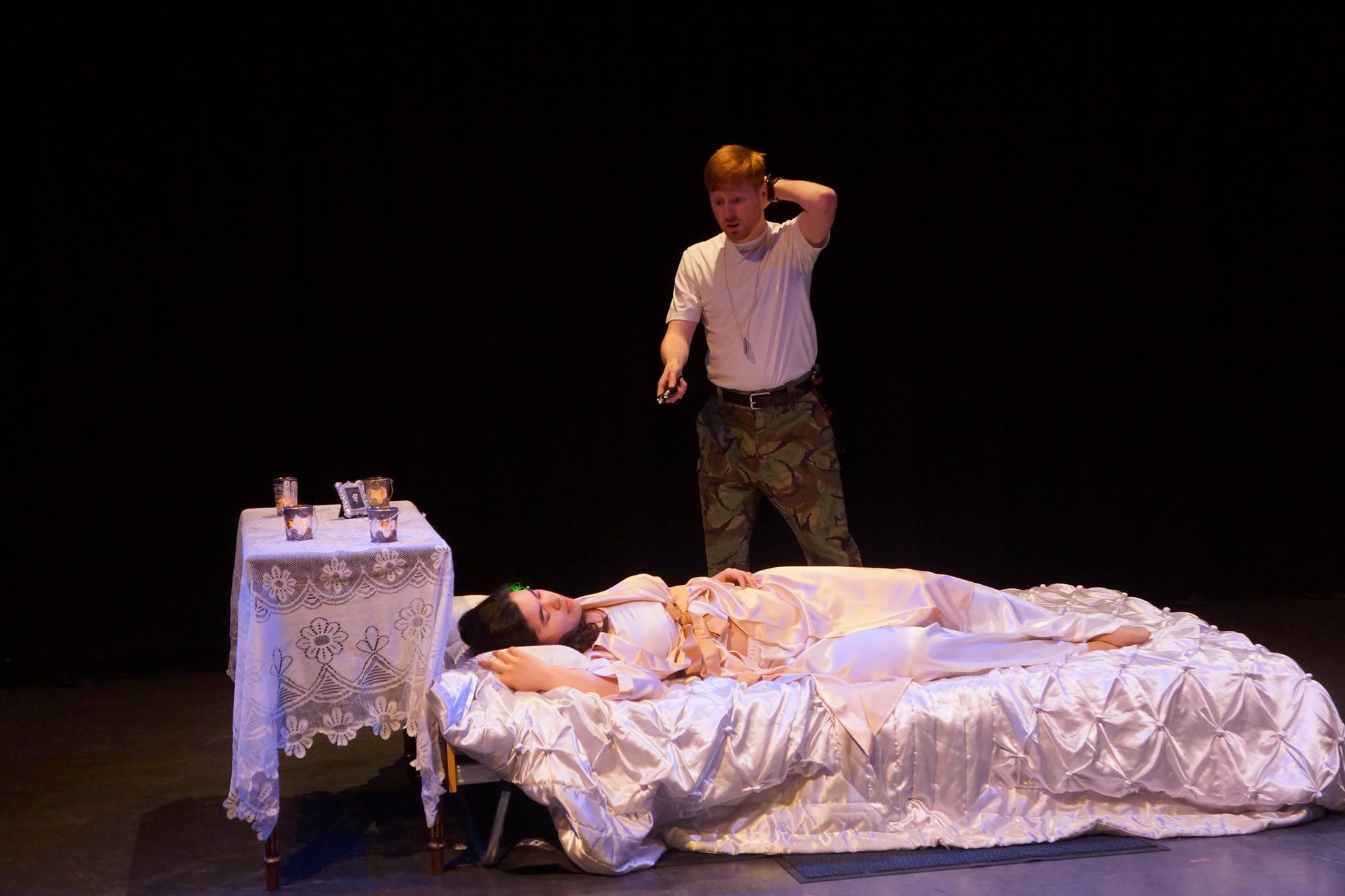 Tarquinius, The Rape of Lucretia - Royal Northern College of Music Opera Scenes, 2014