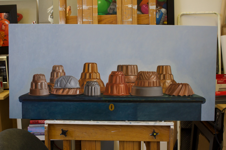 jello molds progress Jackson Painting