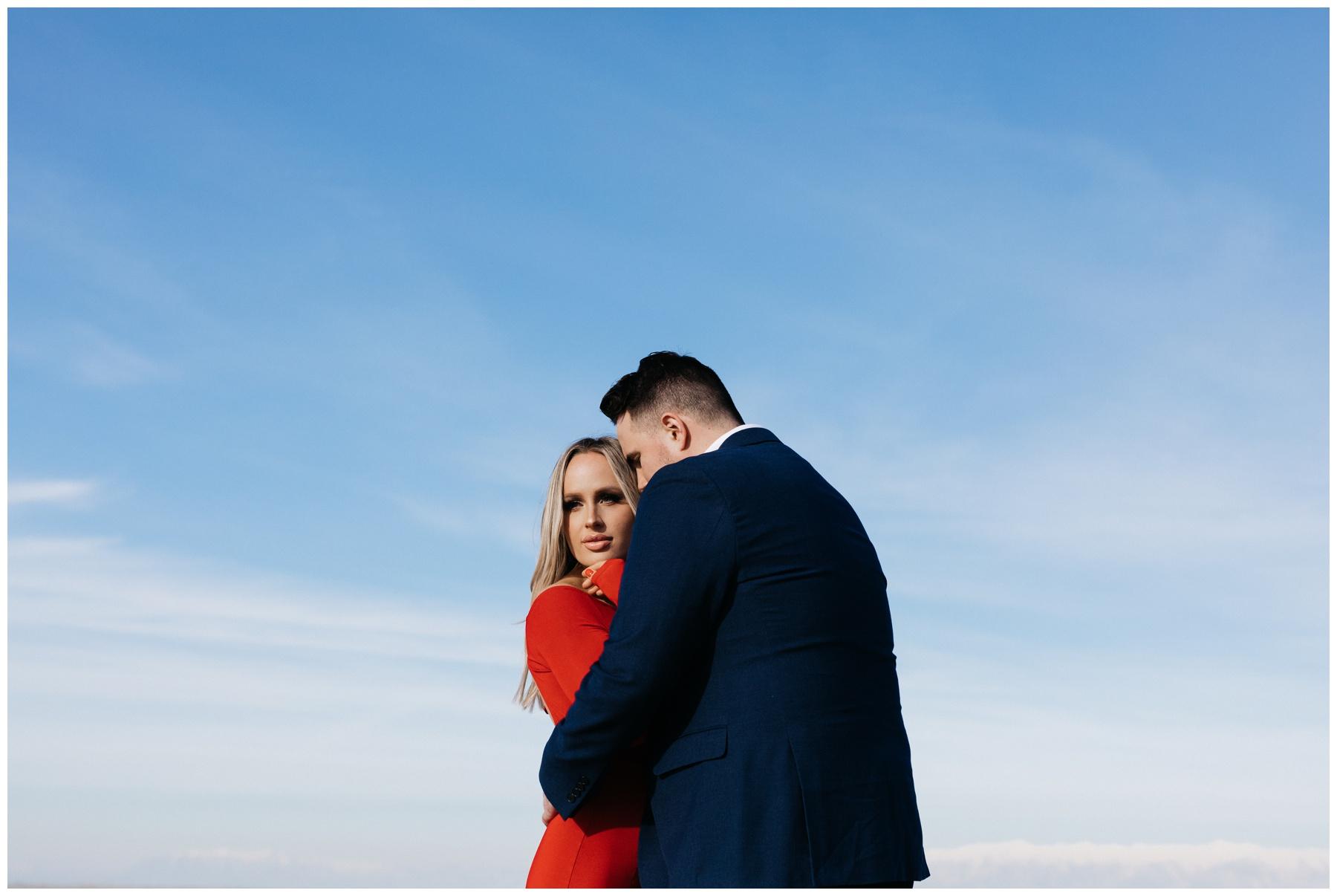 Engagement Photos Salt Flats Utah