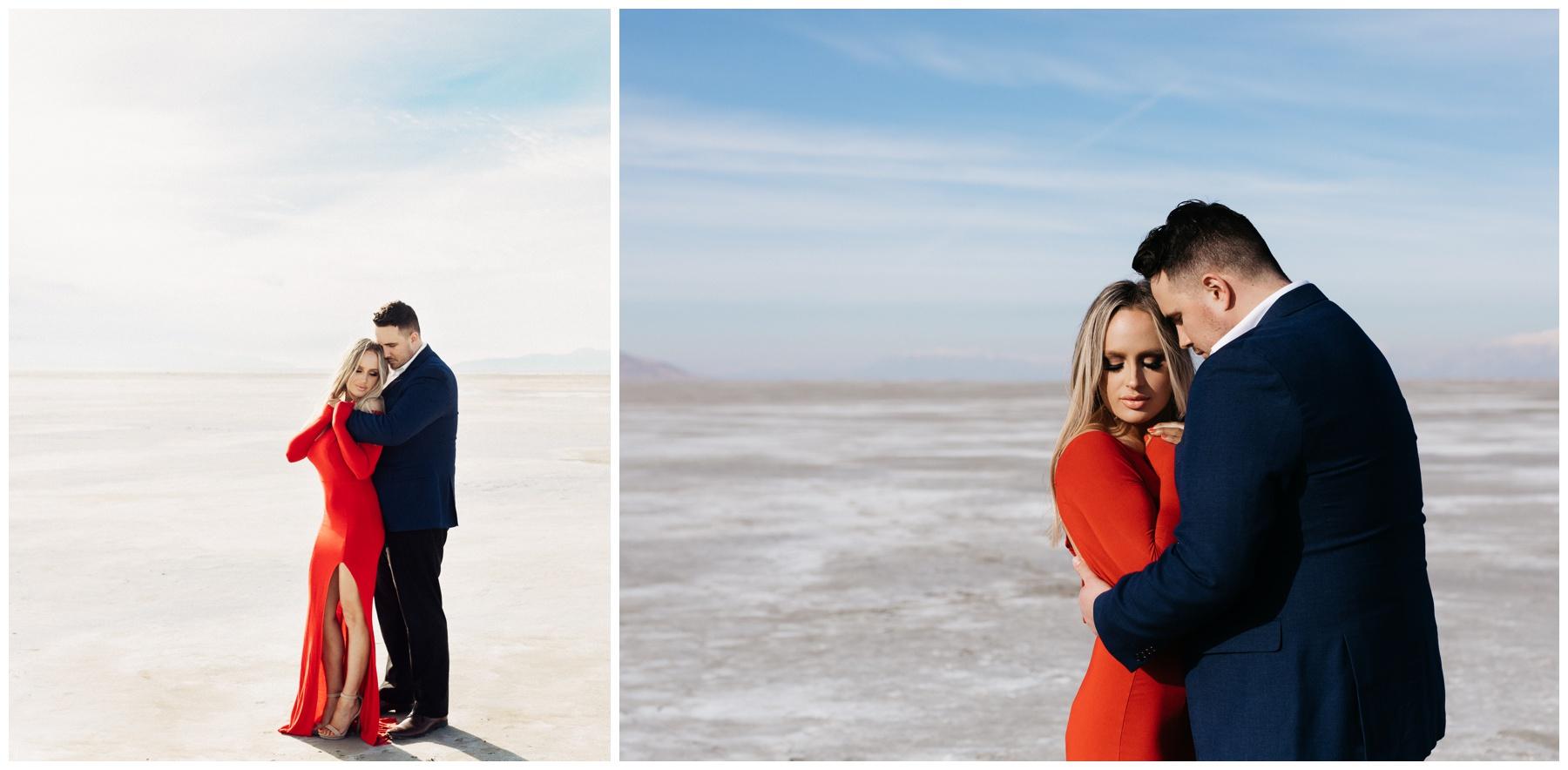 Desert Engagement Photos in Utah