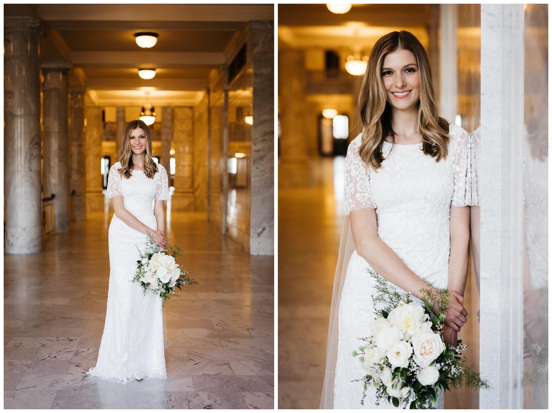 Bridal Portrait Photographer SLC Utah