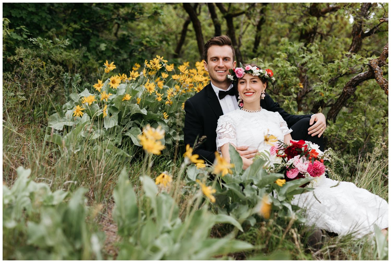 squaw peak wedding portraits utah