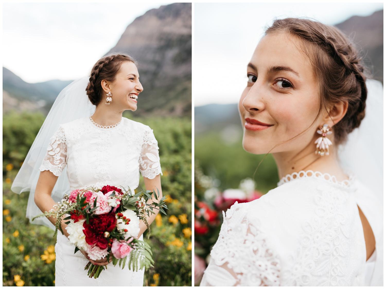 bridal portrait photographer in utah