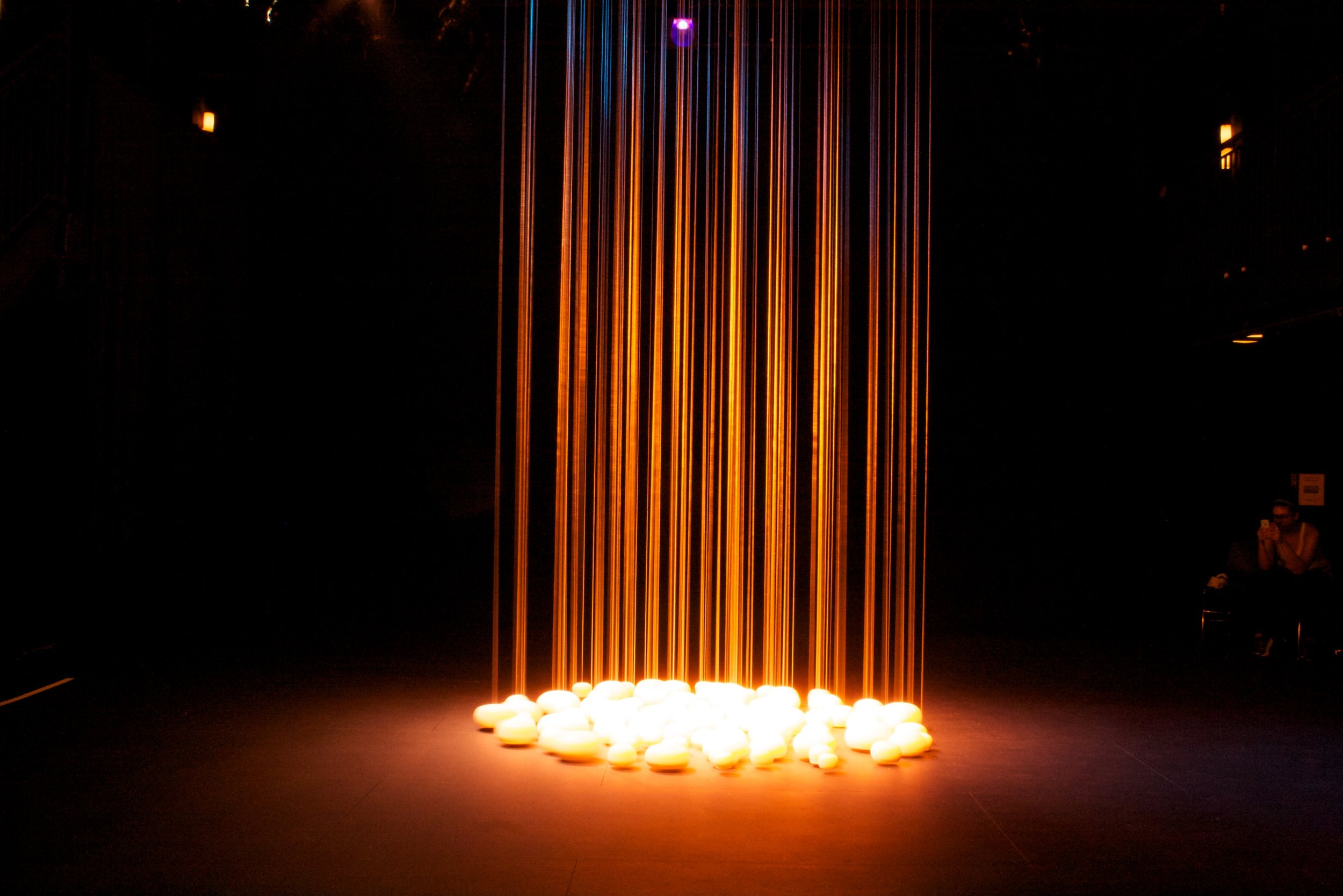 Resonance  installed at the Sheen Center for Thought & Culture, NYC, September 2015.