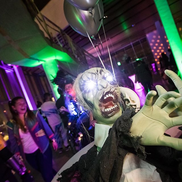 Haunted Disco photos are now online at www.HauntedDiscoDC.com courtesy of @bruce_buckley | Thank you to everyone who made this event a success! Congrats to our fabulous costume contest winners. We'll see you in 2020 for our next series of pop-up dance parties! #haunteddiscodc #scorpiodjs #202creates #madeinDC #halloweennight #djlife #eventpros