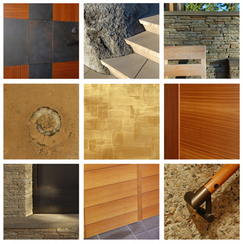 material details from our projects