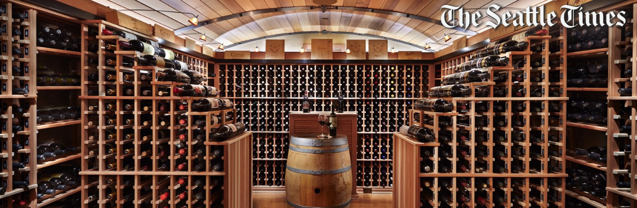 The Seattle Times  Pacific NW Magazine  featured a McClellan Architects wine cellar in October 2015