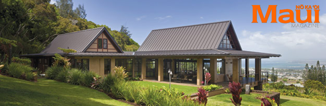 Wing House featured in Maui Magazine's March 2012 issue