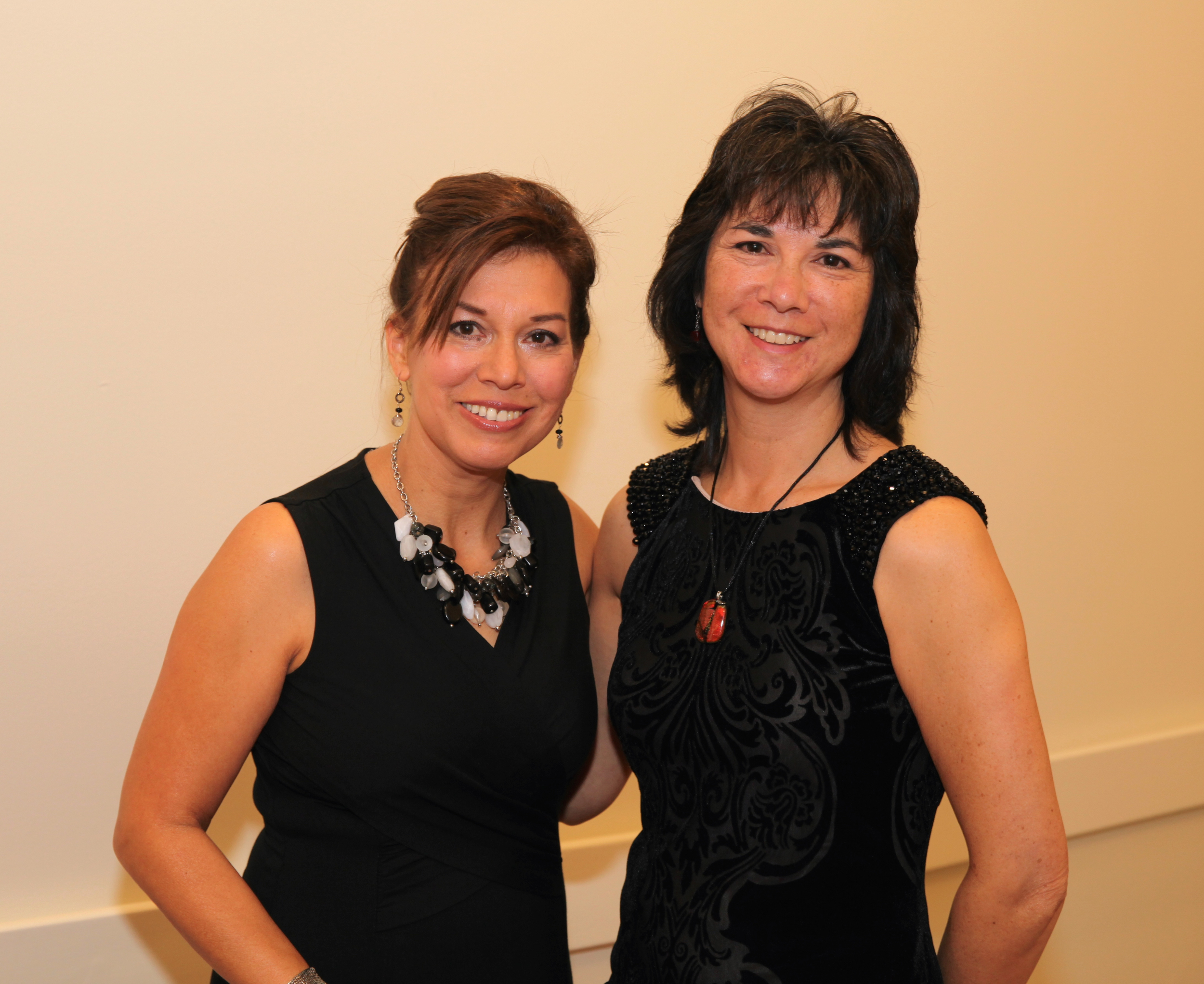 Lenora Montoya Heuchert and Tracy Burriss