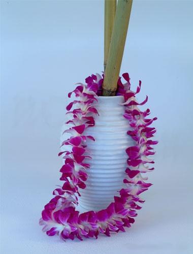 Purple Orchid Lei