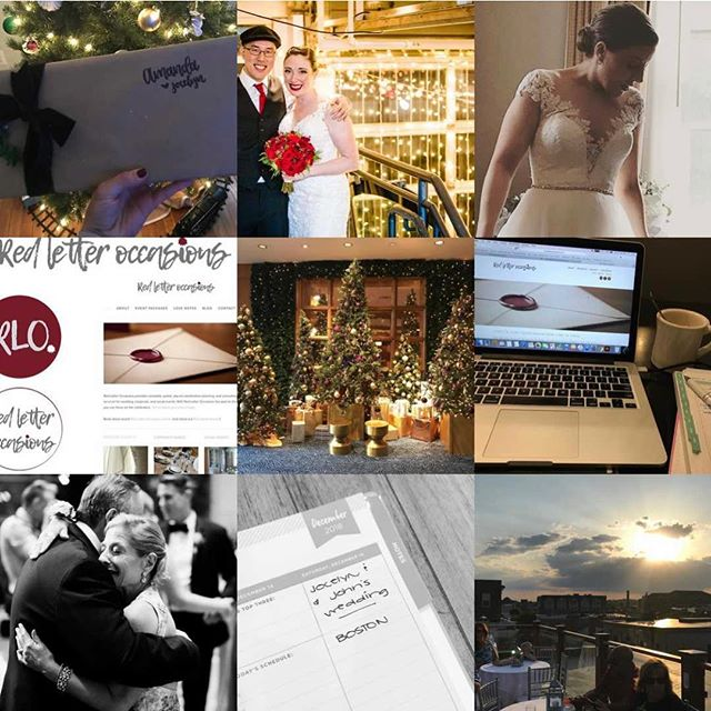 It's 2018 for 47 more minutes. 2018 was a beautiful year. #top9of2018 ❤️❤️❤️ #redletteroccasions #redletterday #eventplanner #weddingplanner #corporateevents #event #wedding #bostonevents #weddingsofinstagram #eventsofinstagram #motherofthebride #fatherofthebride #winterwedding #junewedding #salem #boston