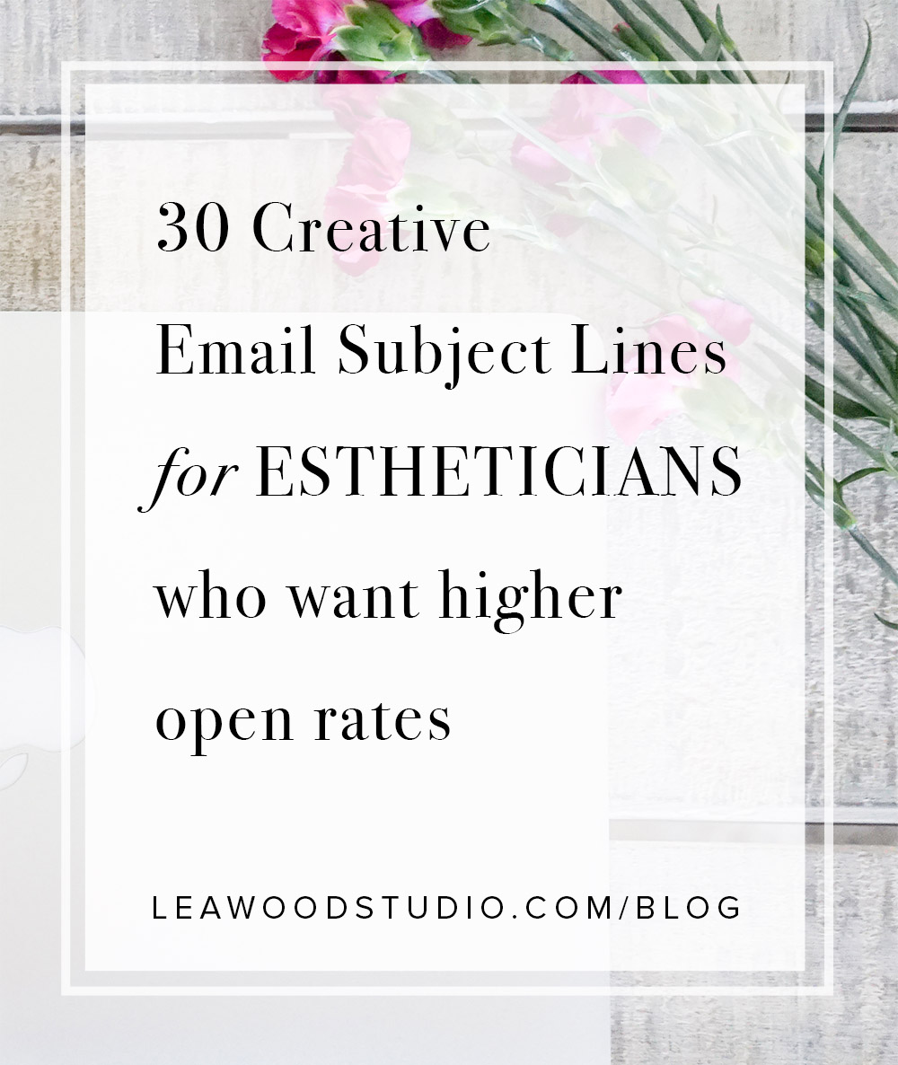30 Creative Email Subject Lines for Estheticians who want higher  open rates pin.jpg