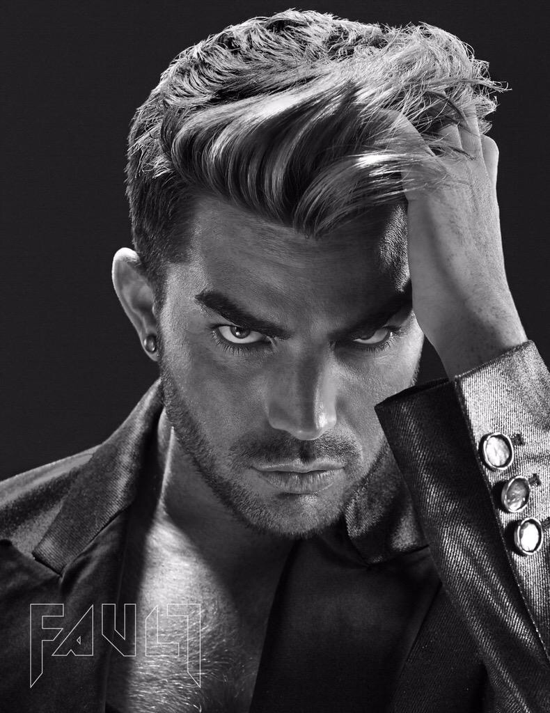Adam Lambert in Fault Magazine