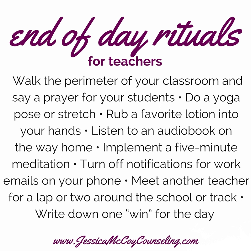 Self-care ideas for teachers | Nashville Counseling