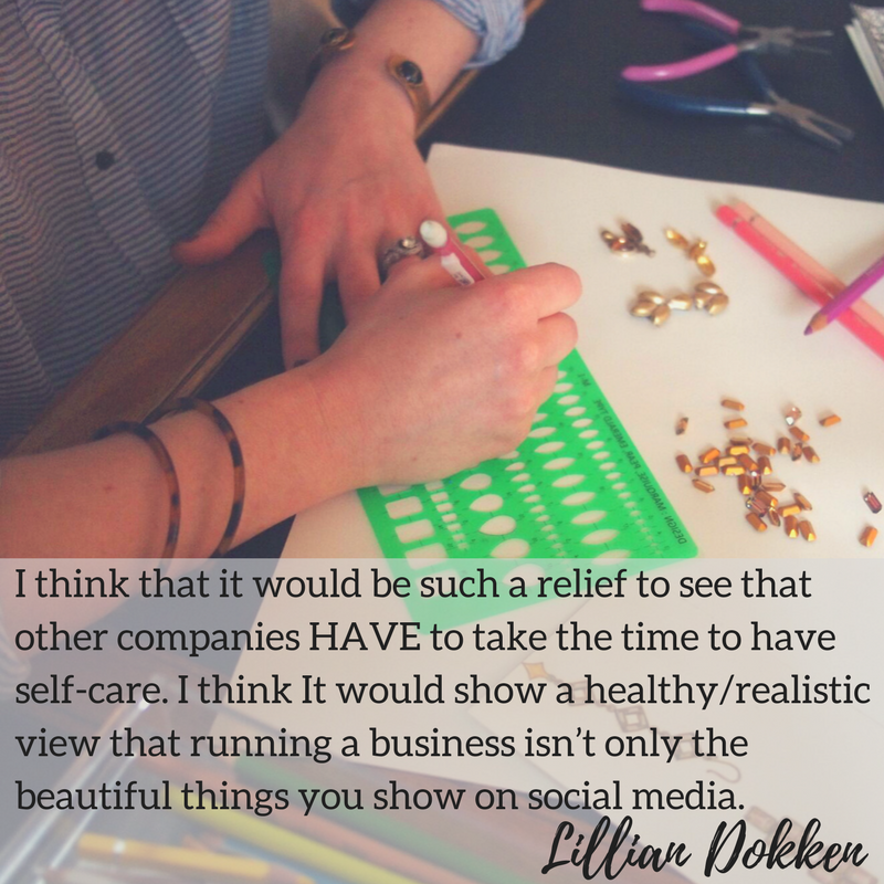Lilli Dokken | Self-Care for Creatives