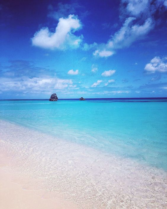 I set my screensaver at the hospital to a photo just like this of Bermuda. Then I took this one myself and have already used it for paintings. I focused so hard on being on those pink sand beaches and feeling healthy!