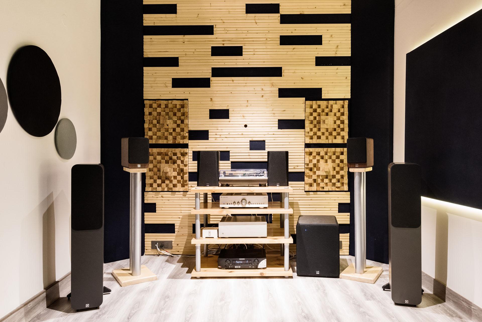 Stereo - Music Listening Room