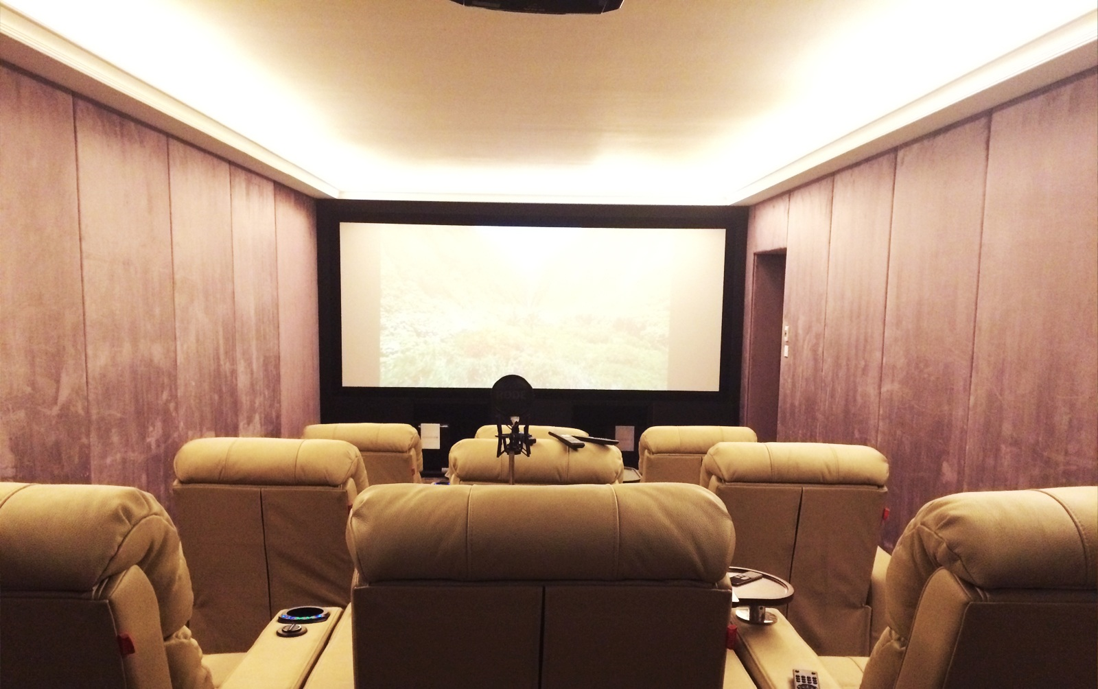 A Cinemascopic screen for the movie lover