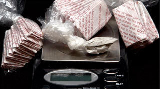 seized heroin