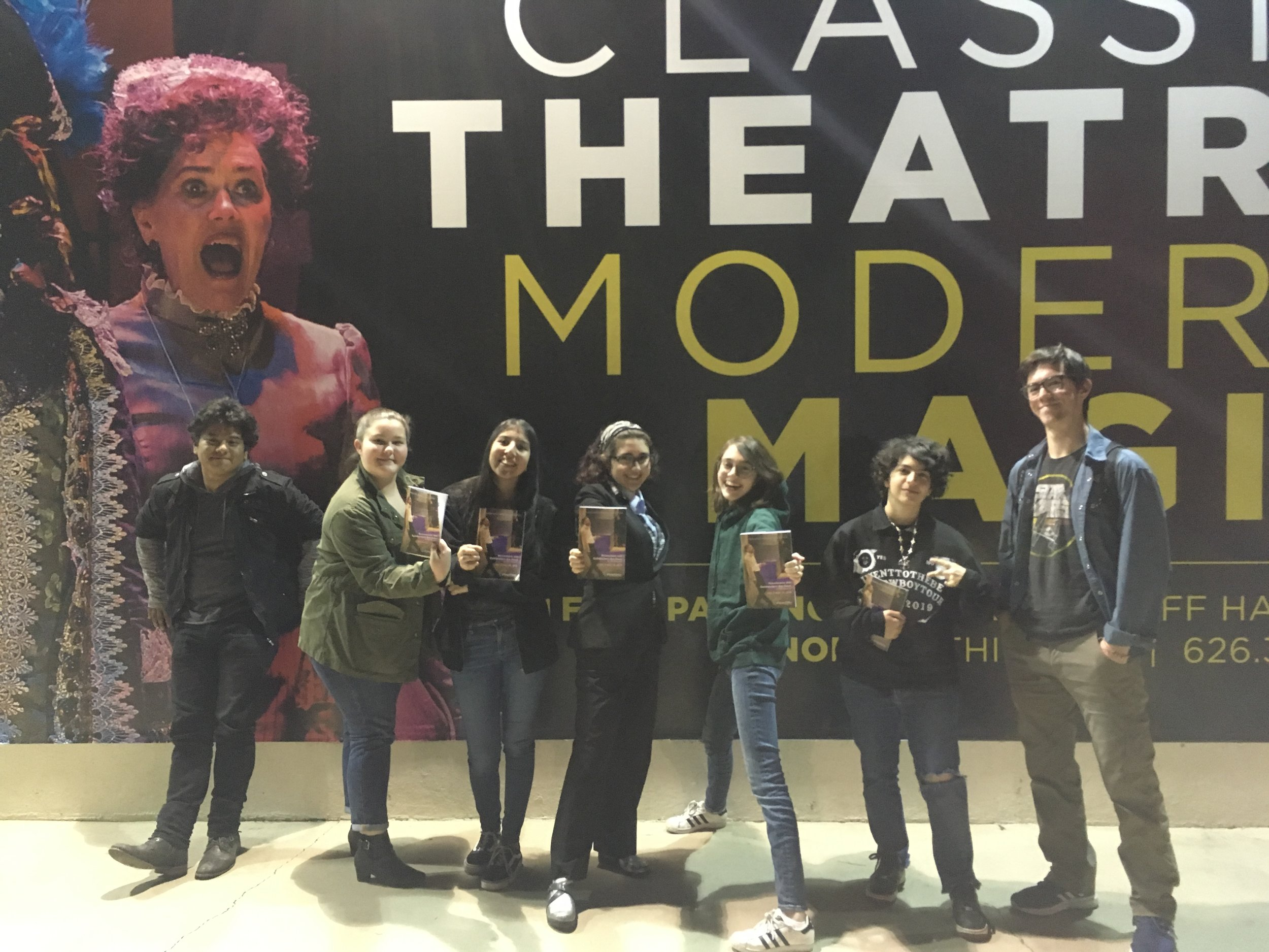Theatre of the Absurd field trip to  Rosencrantz and Guildenstern are Dead  at A Noise Within