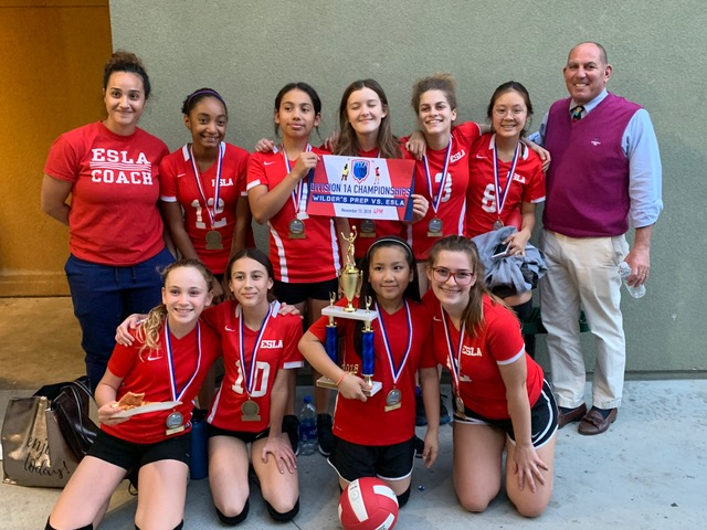 Our MS Girls Volleyball Team made it to the Championship Game and came in second place overall in the FIYA League! Go Coyotes!