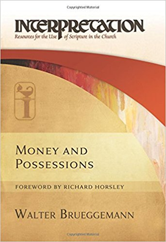 Dean's Sunday Series: Money and Possessions by Walter Brueggemann - What does the Bible say about money, possessions, and the intersection of our faith and politics? In August, Dean Loya will lead a four-week series based on Walter Brueggemann's book Money and Possessions as we seek to explore these themes. The world we live in and the reality envisioned by scripture frequently speak against one another especially when it comes to politics, and economics. Join us as we explore how the vision of the Bible can help us be agents of transformation, justice, and peace in our own lives.