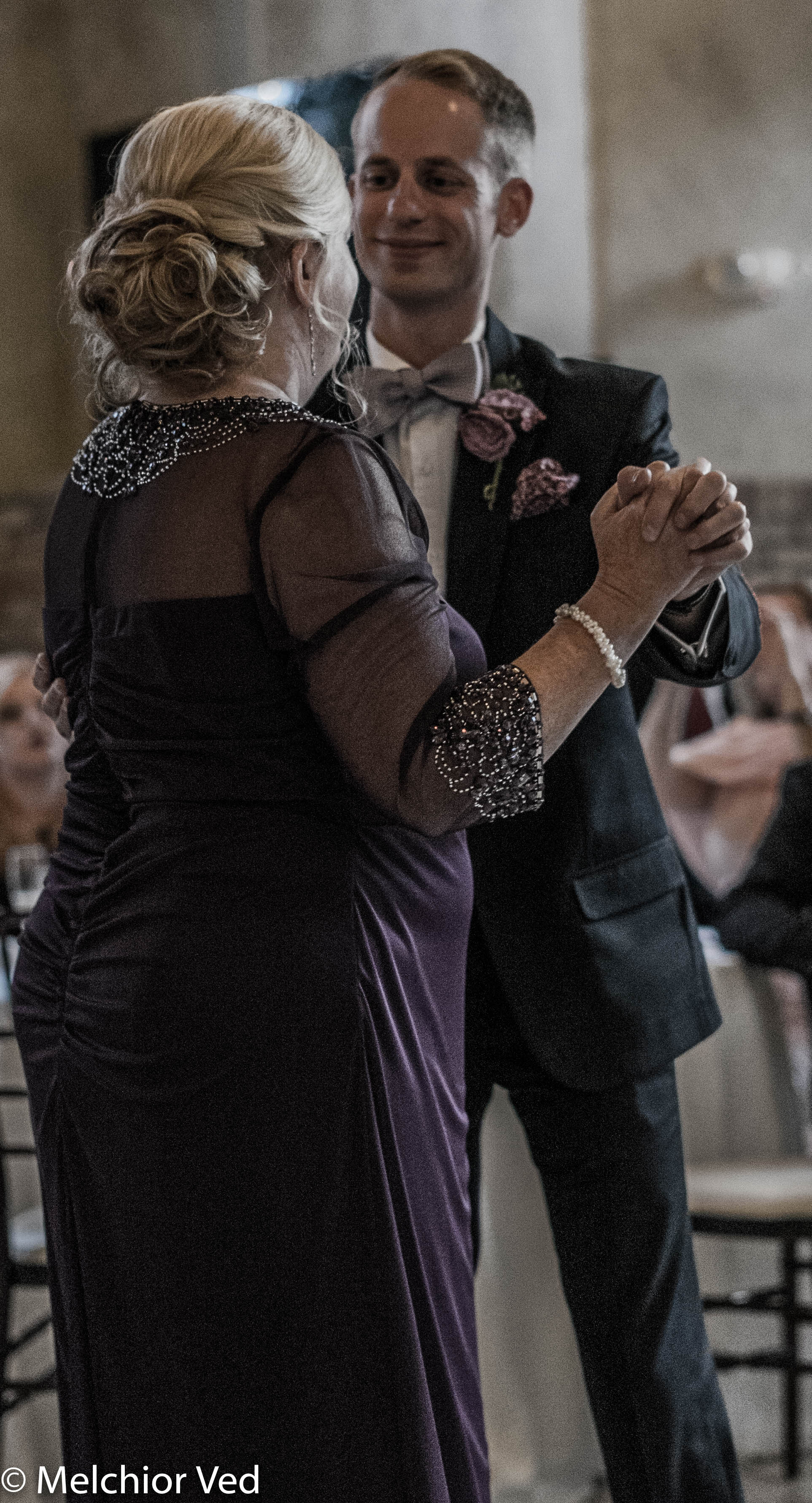 A Dance With His Mother