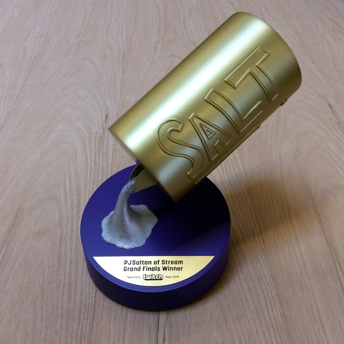 Salt Award for TwitchTV