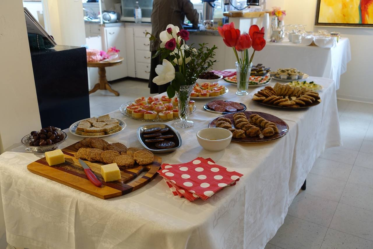 Lovely sweets and savouries.