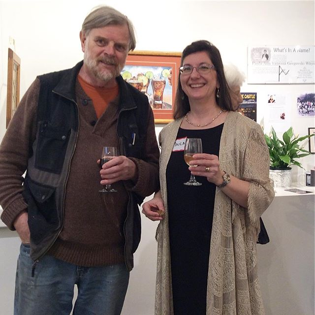 Thank you everyone for coming out to celebrate the opening of Tides of Time- mixed media work from the book Cove Castle by the uber creative Paula Ann Van. #authorartist #covecastle #drawing #bookillustration #characterart #saltspringartist
