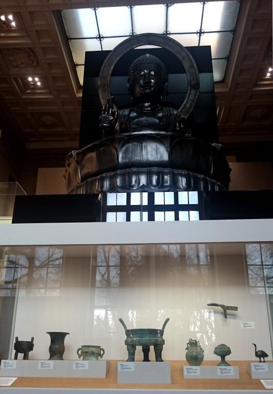 Bronzes de la donation Zao Wou-Ki au musée Cernuschi (Droits réservés)