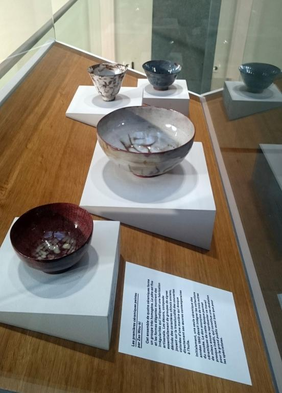 Ceramics from the Zao Wou-Ki donation to the Cernuschi Museum (rights reserved)