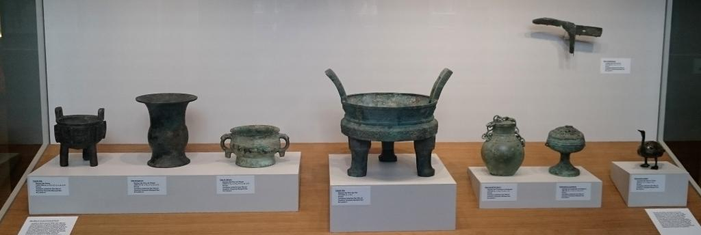 Bronzes from the Zao Wou-Ki donation to the Cernuschi Museum (rights reserved)