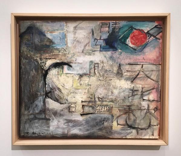 Zao Wou-Ki, Untitled (1949), via Art Observed