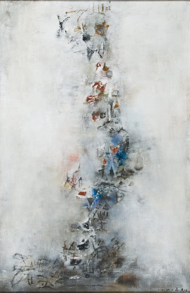 Marronnier , 1955. Huile sur toile, 39 1/2 x 25 1/2 in. (100.3 x 64.8 cm). Picker Art Gallery, Colgate University. Gift of Harvey Picker '36, 1994.2.4