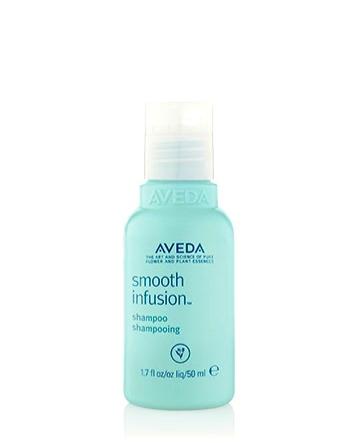 Smooth Infusion Shampoo für geschmeidig glattes Haar Originalgröße 24,50 € Reisegröße 9,00 € also 37 % Gratis dazu