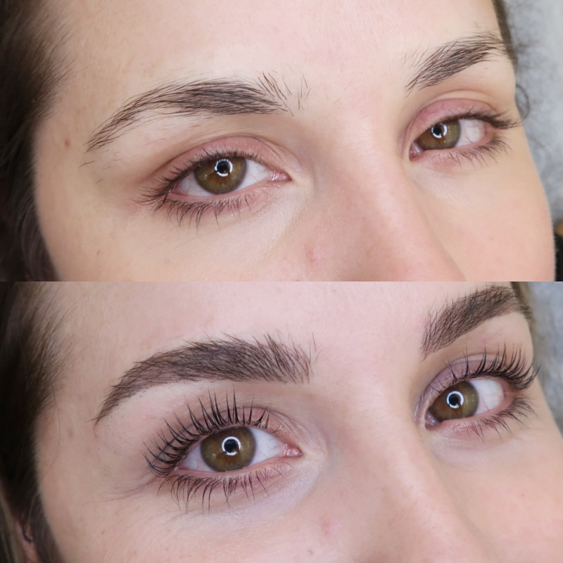 eyebrow tattoo & lash lift