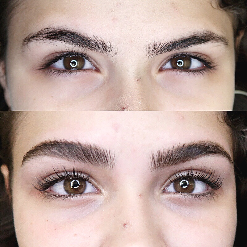 LASH LIFT+TINT+BROW SHAPING